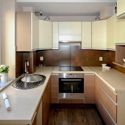 8 cocinas pequeñas donde cabe todo