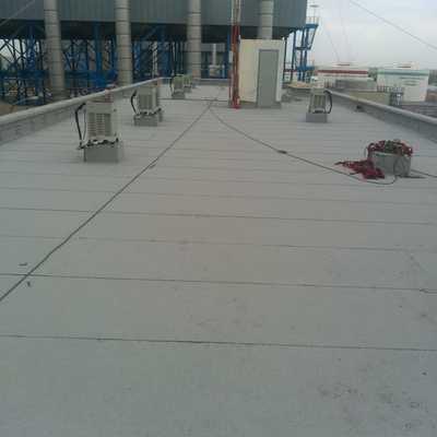 Impermeabilización de Edificio de Oficinas de Planta Termoeléctrica en Valle Hermoso Tamps 535 m2
