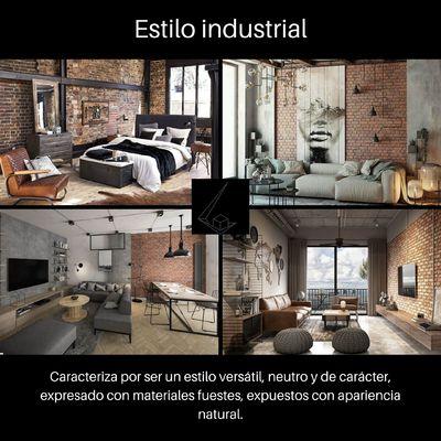 Hablemos sobre el estilo industrial