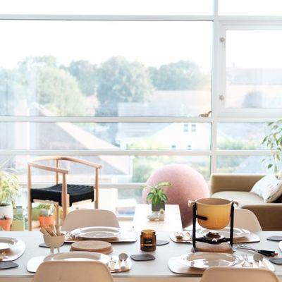Cómo convertir tu salón, en un salón comedor