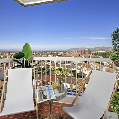 Muebles ideales para terrazas y balcones pequeños