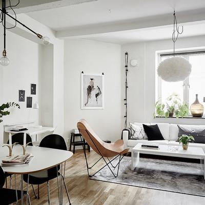 Un departamento de 44 m2 en el que se aprovecha cada rincón