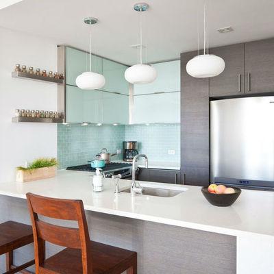 El top 3 en cubiertas de cocina: granito, mármol sintético y madera