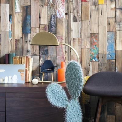 maderas en la pared