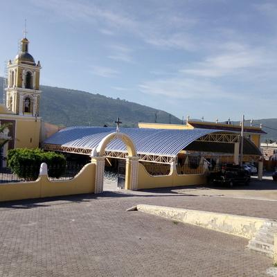 Templo De Santa María Malacatec