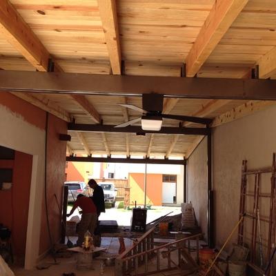 Ampliaciones, remodelaciones, cisternas, tejados, rejas, pisos.