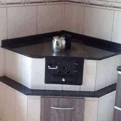 construcción de estufa