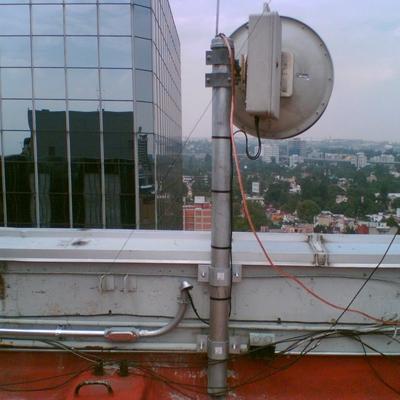 Adecuación para telecomunicaciones, edificio HSBC