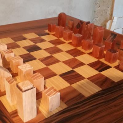 Tablero de ajedrez minimalista