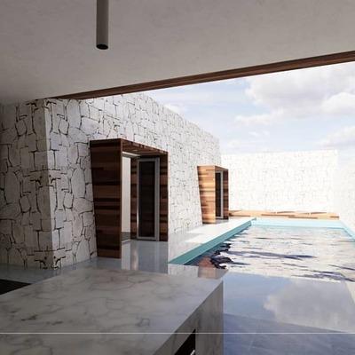 """PROYECTO Casa habitación residencial """"Piedra Blanca"""""""