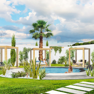 Espacio & Arquitectura / Jardin OMJ