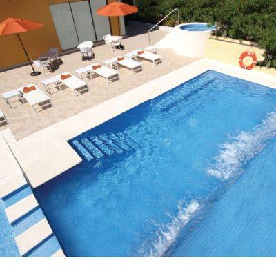 Remodelación Alberca Hotel Quinta Inn Cancun
