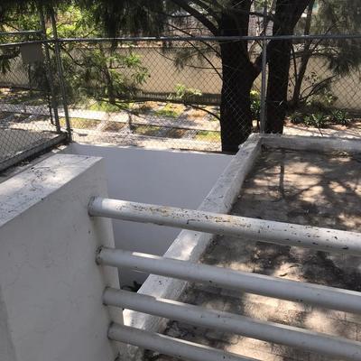 Cambio de barandales, para ampliación de terraza
