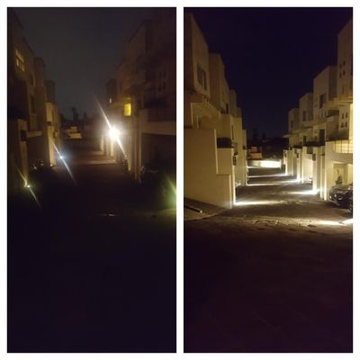 Iluminacion de condominio en La Magdalena Contreras