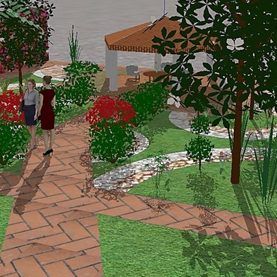Jardín Común y Jardín para Gatos