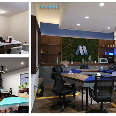 Remodelación de oficina para profesional multimedia.