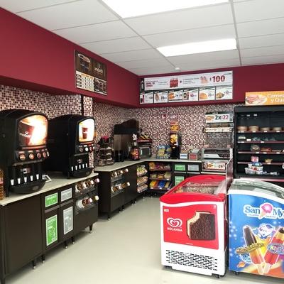 Área fast-food
