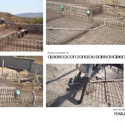 PROYECTO Y CONSTRUCCIÓN DE ALBERCA