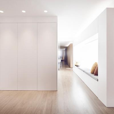 closet empotrado blanco