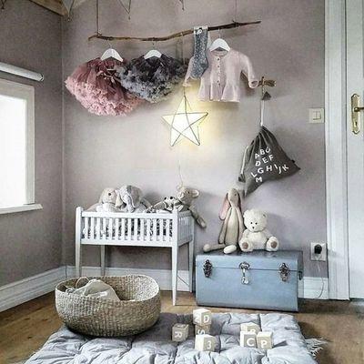 Cuarto infantil gris