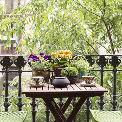 Balcones urbanos, un oasis en la ciudad