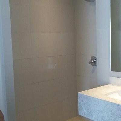 Canceles de baño cristal templado Grand Polanco