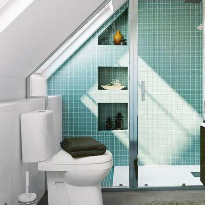 8 baños muy bien aprovechados