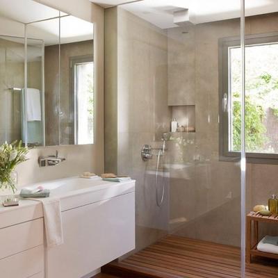 Baño con extractor de aire