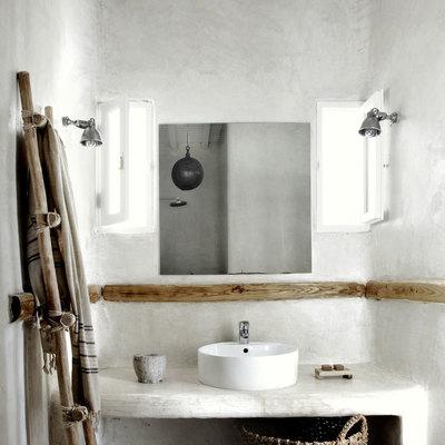 10 baños rústicos que merecen un 10