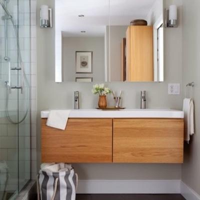 Muebles suspendidos: gana espacio y funcionalidad