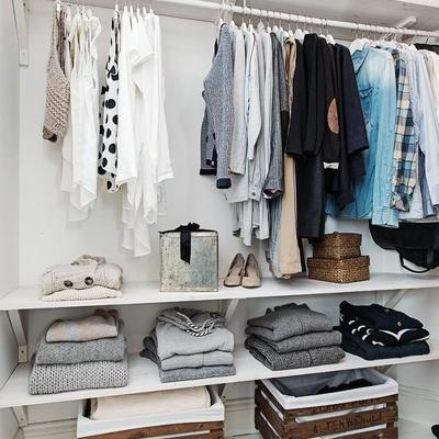 cajas en armario