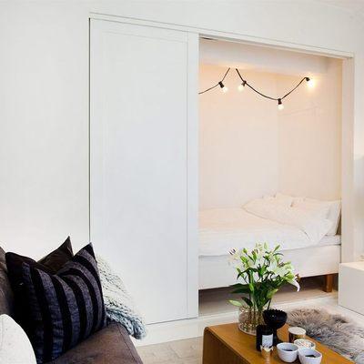 ¿Una cama en el armario o el pasillo? Soluciones para casas pequeñas