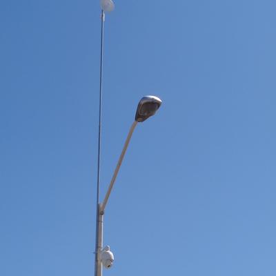 IMPLEMENTACION DE CCTV EN VIA PUBLICA CON ELACES