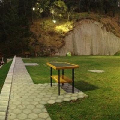 Palapa de Tiro con Escopeta en el Campo Deportivo del Estado Mayor Presidencial