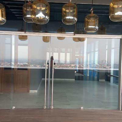 Cancel de vidrio templado para terraza