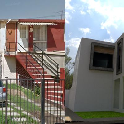 """Casa de Interes Social, """"Casa A&N"""""""