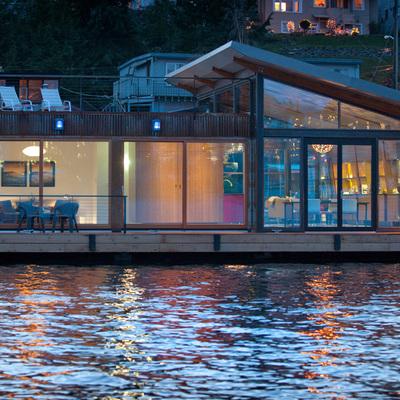 9 Casas flotantes la mar de sorprendentes
