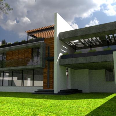 """Casa Habitación, """" Casa Quetza"""""""