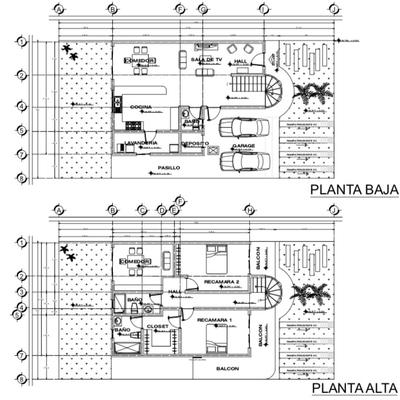 Plano casa en baja California