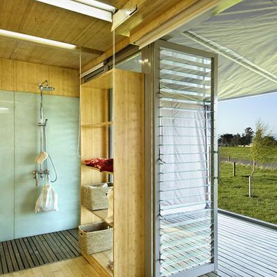 Baño casa prefabricada Port-a-Bach
