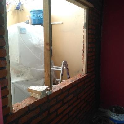 Levantamiento de muro