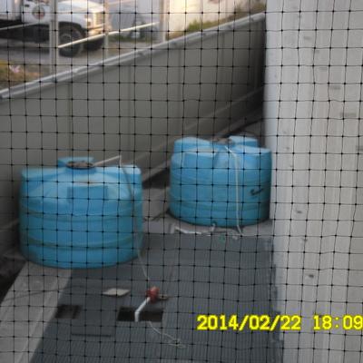 Cisterna de aguas tratadas