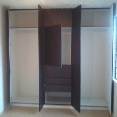 Closet y puertas Chocolate