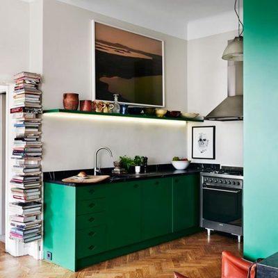 estanteria en cocina