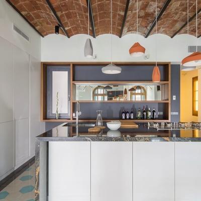 Cocina con granito Stromboli
