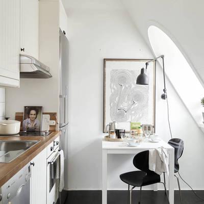 7 Consejos para sobrevivir en una cocina pequeña