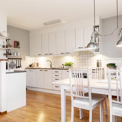 Ideas y fotos de mesa blanca comedor para inspirarte for Mesas de cocina blancas