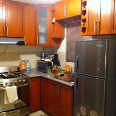 Carpintería trabajos de remodelación en cocina y cambio de color