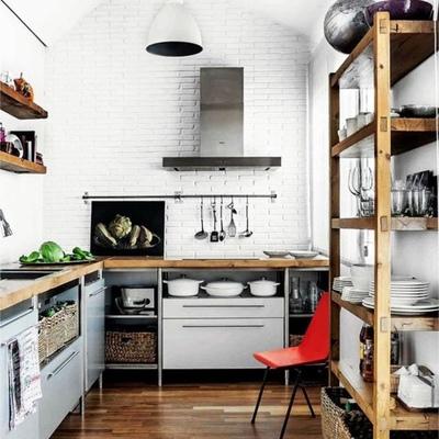 Cocina mini estilo vintage