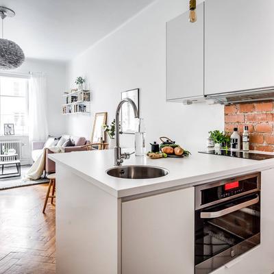 Ideas de remodelar cocina peque a para inspirarte for Renovar cocina pequena